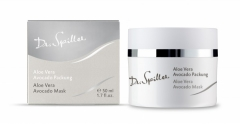 Маска с алоэ и авокадо Доктор Шпиллер Aloe Vera Avocado Cream Mask Dr Spiller Biocosmetic
