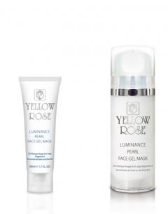 Гелевая маска с жемчугом Йелоу Роуз Luminance pearl face gel mask Yellow Rose