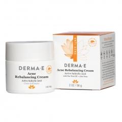 Противоугревой восстанавливающий крем Дерма Е  Achne Rebalancing cream Derma E