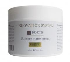 Солнцезащитный матирующий крем SPF 30 для жирной кожи Инновейшн Систем Forte Suncare matte cream Innovation System