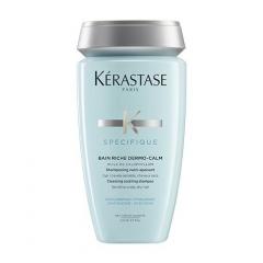 Успокаивающий шампунь для чувствительной кожи головы и сухих волос Керастаз Dermo Calm Bain Rich Kerastase