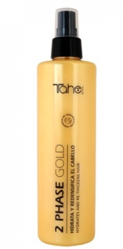 Увлажняющий и уплотняющий Двухфазный спрей Тахе Botanic Gold BIO FLUID 2 phase Tahe
