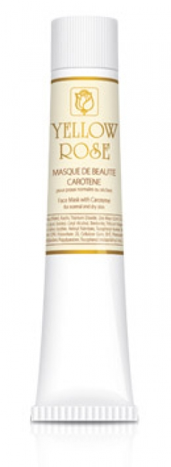 Маска красоты с каротином Йелоу Роуз Masque de beaute carotene Yellow Rose