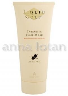Золотая маска для волос Анна Лотан Liquid Gold Intensive Hair Mask Anna Lotan