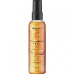 Спрей для блеска волос Индола Glamorous Oil Detangler Indola