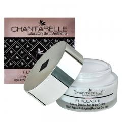 Увлажняющий ночной крем Шантарель FERULASHI Luxury Shikimic Acid Night Cream Lipid Repair Chantarelle