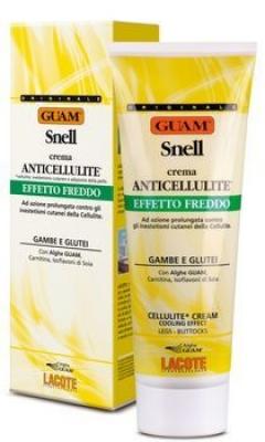 "Антицеллюлитный крем для тела ""Снелл"" ""Холодная формула"" Гуам Crema Anticellulite SNELL Effetto Freddo Guam"