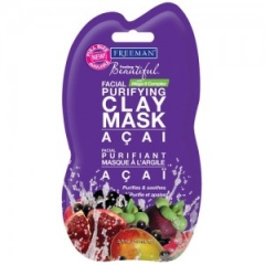 Маска глиняная для лица Акаи Фриман Feeling Beautiful Purifying Clay Mask Acai Freeman