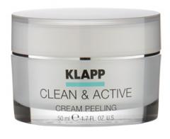 Крем-пилинг Клапп Clean & Active Cream Peeling Klapp