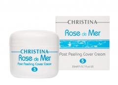 Постпилинговый тональный защитный крем Кристина Rose de Mer Post Peeling Cover Cream Christina