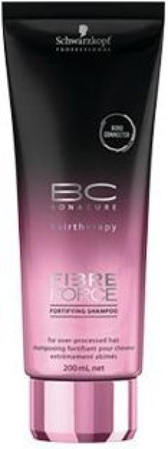 Безсульфатный укрепляющий шампунь Шварцкопф Профэшнл Bonacure Fibre Force Fortifying Shampoo Schwarzkopf Professional