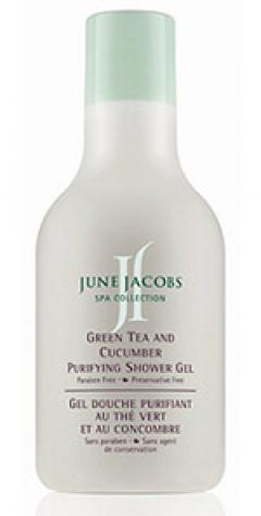 Гель для душа Зеленый чай и Огурец Джун Джейкобс Green Tea and Cucumber Purifying Shower Gel June Jacobs