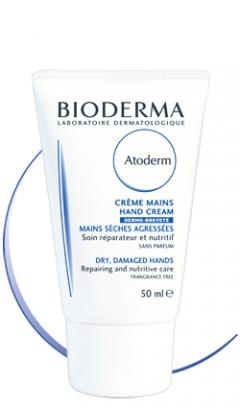 Крем для рук восстанавливающий Биодерма Atoderm Hand cream Bioderma