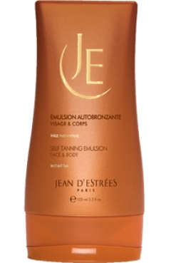 Эмульсия для автозагара для лица и тела Жан Д'Эстре Tanning emulsion for face and body Jean d'Estrees