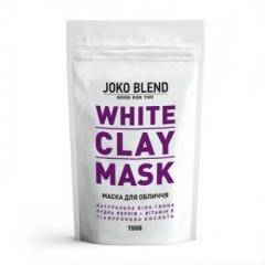 Белая глиняная маска для лица Джоко Бленд White Сlay Mask Joko Blend