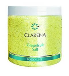 Грейпфрутовая соль для педикюрных ванночек Кларена Grapefruit Salt Clarena