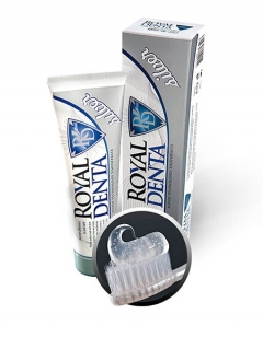Зубная паста с серебром Silver ежедневная Роял Дента Silver Royal Denta