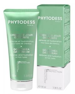 Бальзам с маслом карите для всех типов волос Фитодесс Creme de jour or-karite Phytodess