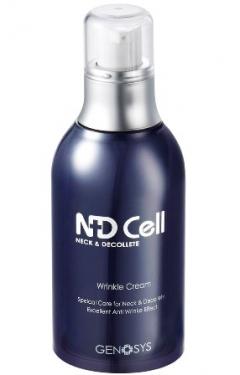 Крем против морщин для области шеи и декольте Генозис NDCell Anti-Wrinkle Cream (NWC) Genosys