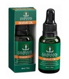 Натуральное масло для бритья Клабмен Pinaud Shave Oil Clubman