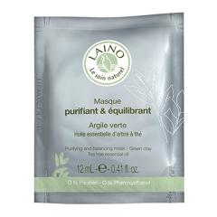 Очищающая и регулирующая маска для лица с зеленой глиной Лено Purifying and Balancing Mask - Green Clay Laino