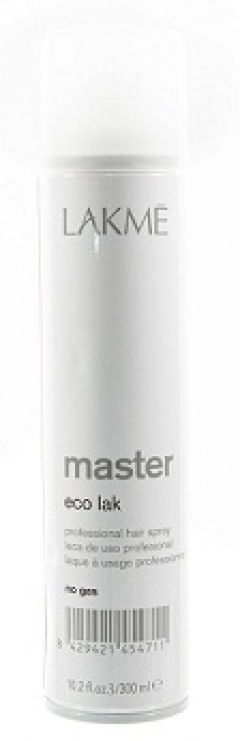 Неаэрозольный лак для волос нормальной фиксации Лакме Master Eco Lak Lakme