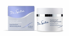 Освежающая маска с тропическими фруктами Доктор Шпиллер Fresh & Fruit Mask Dr Spiller Biocosmetic