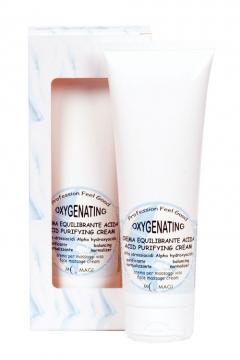 Оксигенирующий крем с альфа-кислотами М.Маджи Oxygenating Acid Purifying Cream Alpha Hydroxiacids M.Magi
