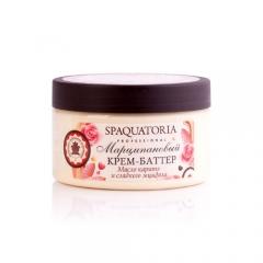Крем-баттер «Марципановый» с маслом сладкого миндаля Спакватория Spaquatoria