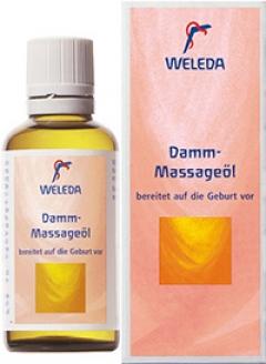 Масло для профилактики разрывов во время родов Веледа Damm-Massageоl Weleda