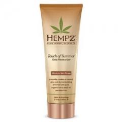 Увлажняющее молочко для тела с бронзантом светлого оттенка Хемпз Touch of Summer Medium Moisturiser Hempz