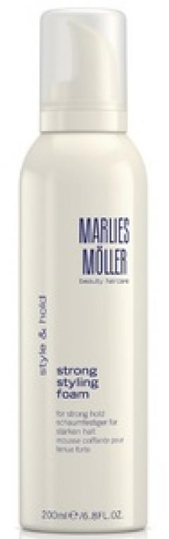 Пена для укладки сильной фиксации Марлис Мёллер Strong Styling Foam Marlies Moller