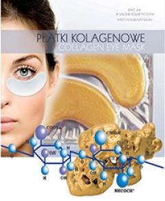 Коллагеновый пластырь под глаза с золотом и кислотой Бьюти Фейc Collagen Eye Patch zlotem i kwasem gialouranovoy Beauty face