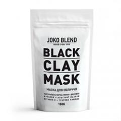 Черная глиняная маска для лица Джоко Бленд Black Сlay Mask Joko Blend