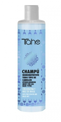 Двухфазный увлажняющий шампунь BIO-FLUID для всех типов волос Тахе BIO-FLUID-HIDRO-NOURISHING SHAMPOO Tahe
