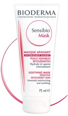 Успокаивающая маска Биодерма Sensibio Mask Soothing Mask Bioderma