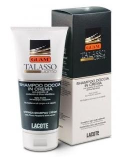 Кремообразный соль-гель для волос и тела Гуам Talasso UOMO Shampoo Doccia in Crema Guam