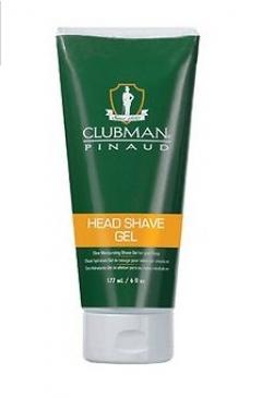 Увлажняющий гель для бритья Клабмен Pinaud Head Shave Gel Clubman