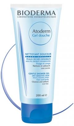Гель для душа Биодерма Atoderm Gentle shower gel Bioderma
