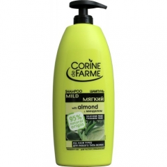 Шампунь мягкий с миндалём Корин Де Фарм Shampoo With Almond Corine de Farme