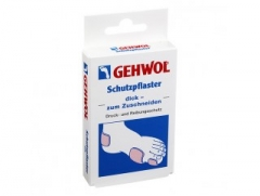 Защитный пластырь толстый Геволь Schutzpflaster Disk Zum Zuscheneiden Gehwol