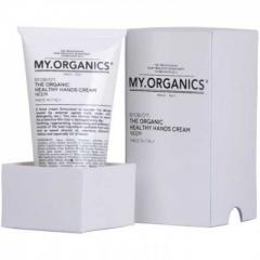 Крем для рук с маслами Ним, ромашки, мальвы, календулы для защиты и питания кожи рук Май.Органикс My Healty Hands My.Organics