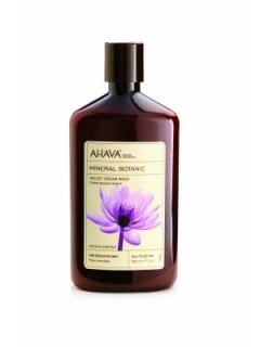 Мягкий крем для душа лотос/сладкий каштан Ахава Mineral Botanic Cream Wash Lotus AHAVA