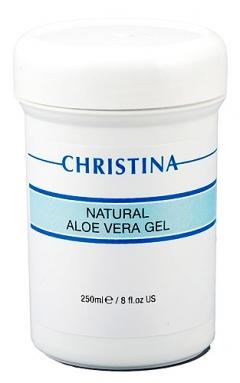 Натуральный гель алоэ вера для всех типов кожи Кристина Natural Aloe Vera Gel Christina