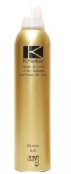 Мусс легкой фиксации для волос БиБиКос Kristal Soft Bbcos