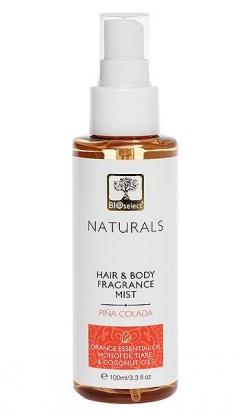 """Парфюмированный спрей для тела и волос """"Пина колада"""" БиоСелект Naturals Fragrance Mist BIOSelect"""