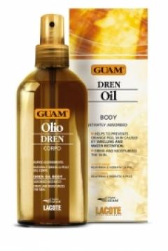 Масло с дренажным эффектом Гуам Olio Corpo Dren Guam