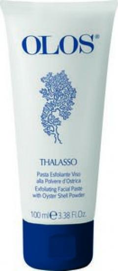 Эксфолиирующий скраб с пудрой ракушки устрицы Олос Thalasso Face Exfoliating Facial Paste with Oyster Olos