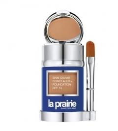 Тональное средство с икорным экстрактом  Ла Прери Skin Caviar Concealer Foundation SPF15 La Prairie