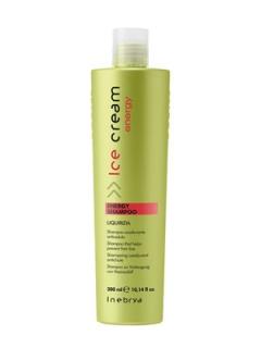Тонизирующий шампунь против выпадения волос Инебрия Ice Cream Energy Shampoo Inebrya